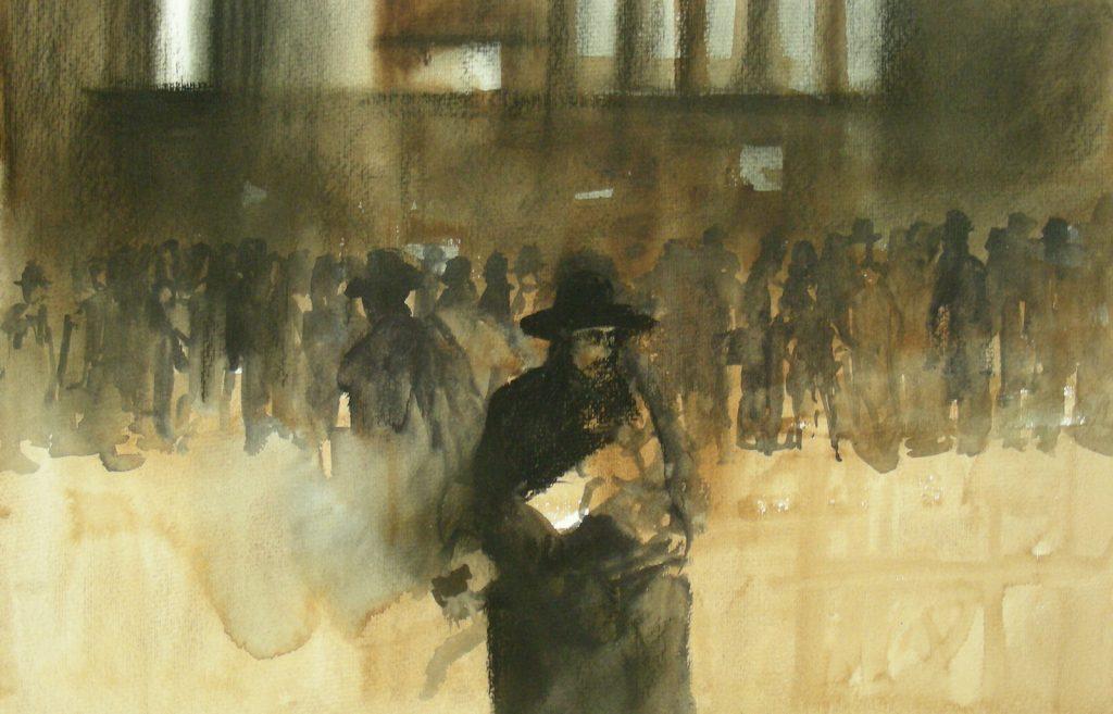 Rabbijn bij de Synagoge