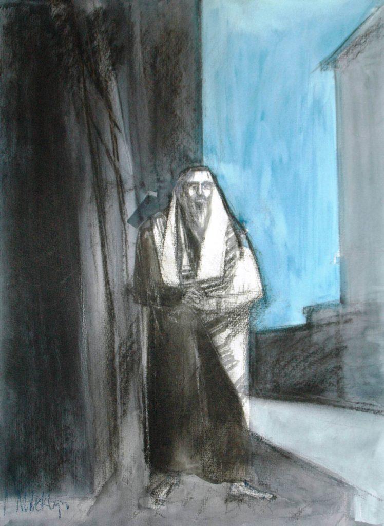 Mediterende Rabbijn I