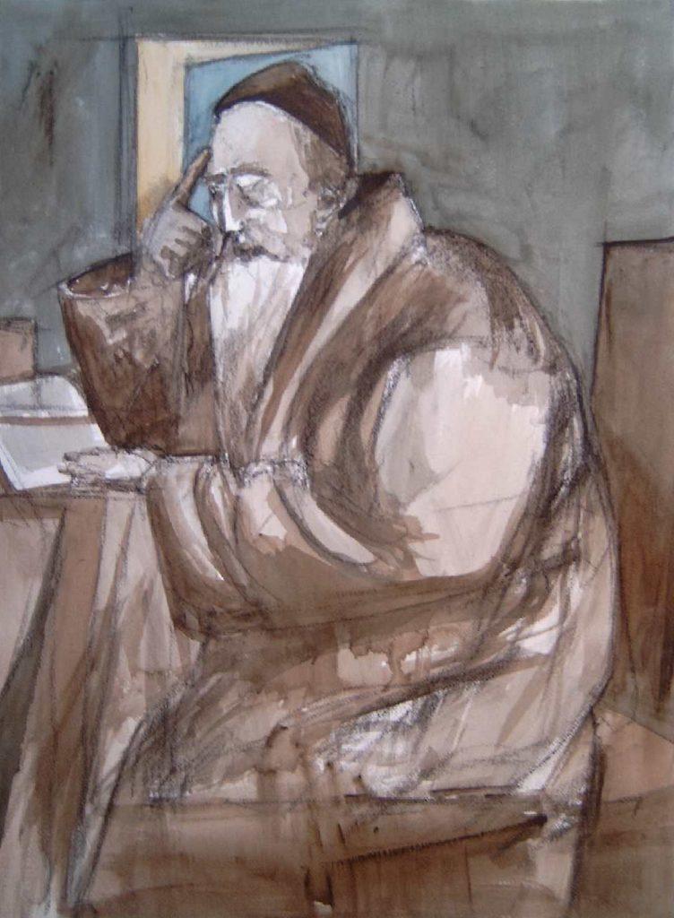 Mediterende Rabbijn II