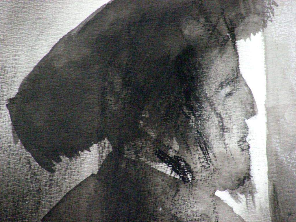 Rabbijn in Gebed (detail)